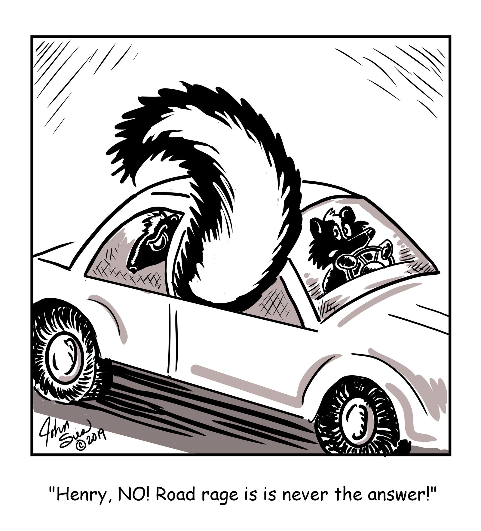 Road Rage Stinks